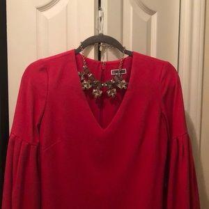 Super cute red shift dress. Never worn.
